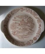 Royal China Inc Bucks county 11 inch platter made in U - $16.99
