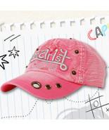 Washout Pink Cap - $5.00