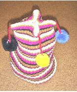 Pom Pom Clown Beanie - $3.00