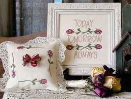 Wedding Roses cross stitch chart From The Heart  - $7.20