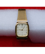 New vtg Citizen Men's Wrist Watch Japan quartz  6031 Movt Gold tone a be... - $45.00
