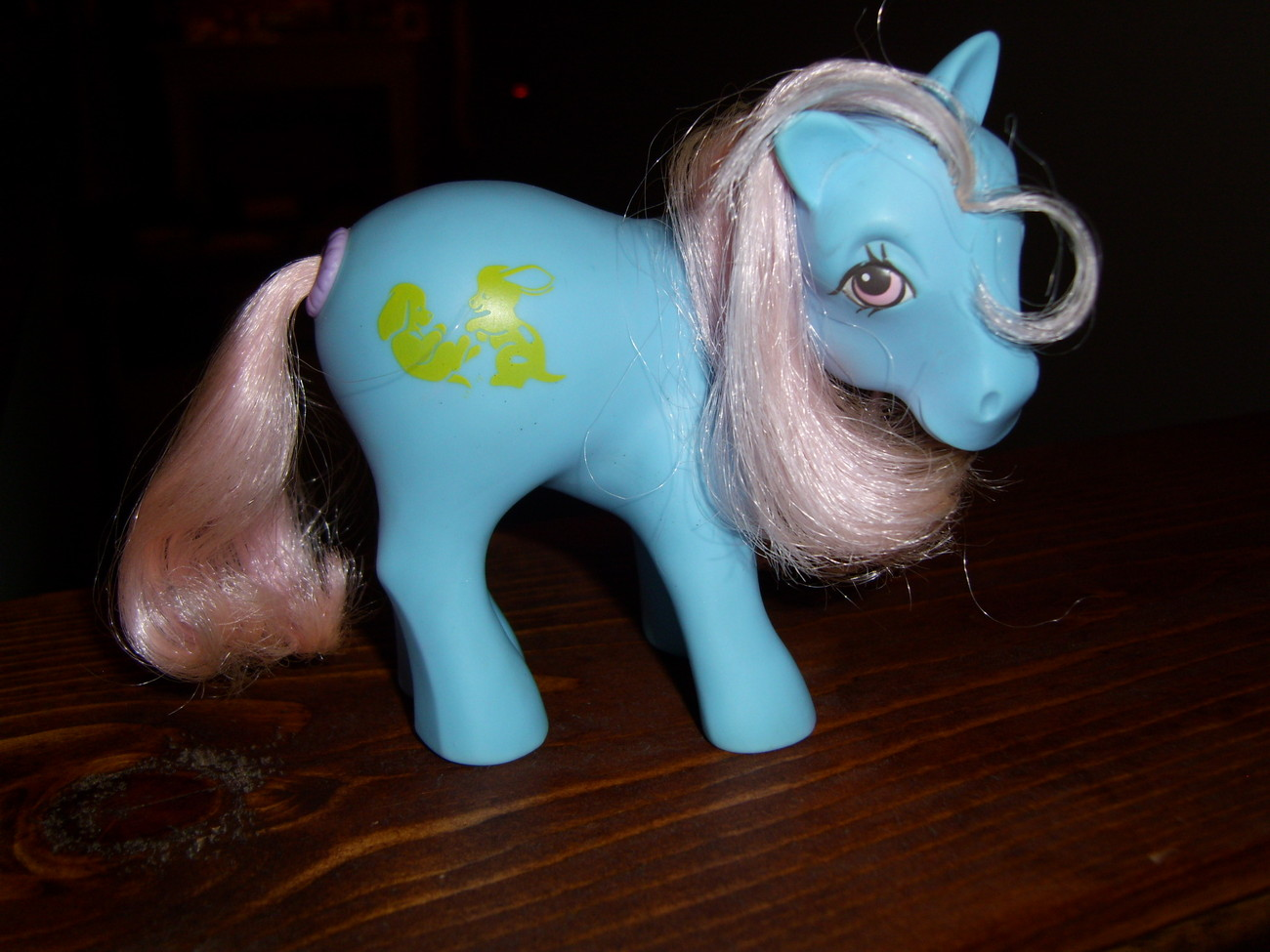 My Little Pony G1 Happy Tails Squeezer