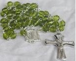 Peridot glass beads rosary thumb155 crop