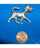Vintage sterling silver dog pin Dalmation - $32.00