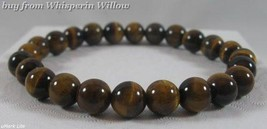 Geniune Tiger's Eye Bead Stretch Fashion Bracelet - $14.95