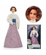 NEW SEALED 2021 Mattel Barbie Inspiring Women Helen Keller Doll Braille ... - $59.39