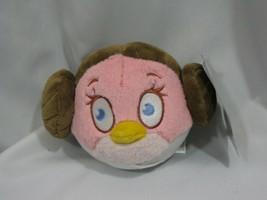 "Angry Birds Star Wars Princess Leia Stuffed Plush 5"" No Sound 2012 Commo... - $12.86"