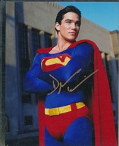 Dean Cain signed Superman photo. COA. Nice !!  - $31.95