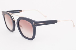 Tom Ford ALEX Shiny Black / Brown Gradient Sunglasses TF541 01F ALEX-02 - $224.42