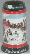 Budweiser ANHEUSER-BUSH 1991 Stein - $33.25