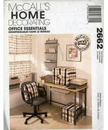 McCall's 2662 OOP Office Essentials Sewing Pattern - $3.95