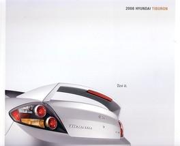 2008 Hyundai TIBURON sales brochure catalog 08 US GT SE V6 - $8.00