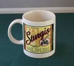 2002 Sturgis Black Hills Rally Coffee Mug VGC - $8.50