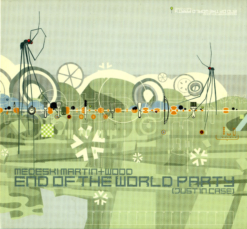 Primary image for Medeski Martin & Wood - End of World Party CD Jazz-hop Funk