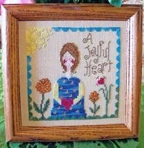 A Joyful Heart cross stitch chart From The Heart  - $7.20
