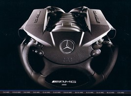 2008 Mercedes-Benz AMG brochure catalog CL CLS CLK E S SL SLK ML G 55 63 65 - $12.00