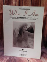 Warner Bros 2000 Who I Am Jessica Andrews Original Sheet Music Edition w... - $9.68