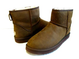UGG MINI DECO MEN ANKLE BOOTS LEATHER CHESTNUT US 13 /UK 12 /EU 47 - €119,89 EUR