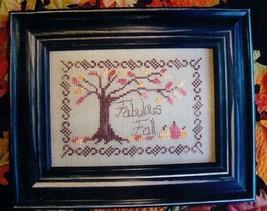 Fabulous Fall cross stitch chart From The Heart  - $3.60