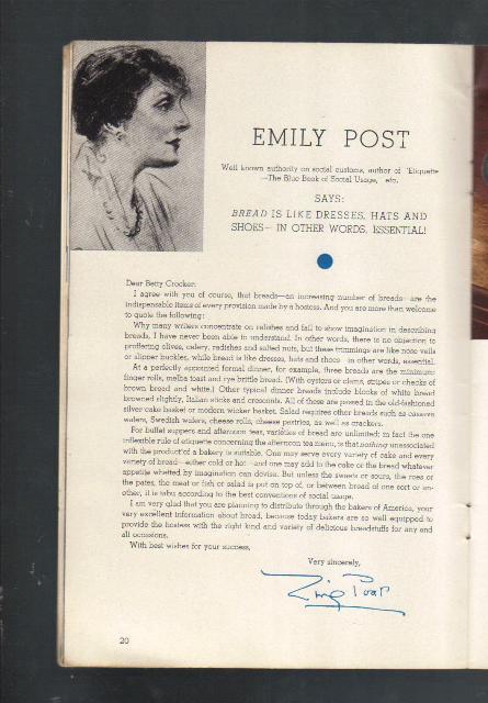 Vintage Cookbook,Vitality Demands Energy,1934 by General Mil