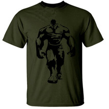 HULK MENS T SHIRT COOL GYM BODYBUILDING TRAINING TOP GILDAN SHIRT - $19.95+