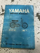 Yamaha U-5E 50cc Service Shop Repair Workshop Manual OEM - $29.65