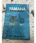 Yamaha U-5E 50cc Service Shop Repair Workshop Manual OEM - $29.65