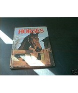 Everyone's COLOR Book of HORSES 1981 By Angela Sayer - $9.96
