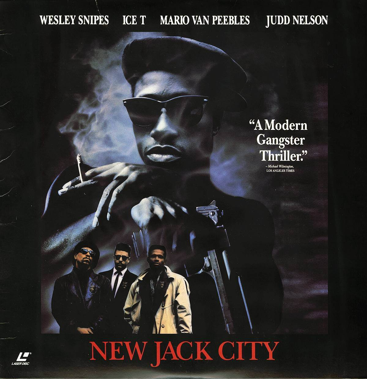 NEW JACK CITY  ICE T CHRIS ROCK  LASERDISC RARE