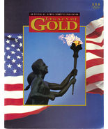 LEGACY OF GOLD, BARCELONA 1992 Official US Olympic Publicati - $5.95