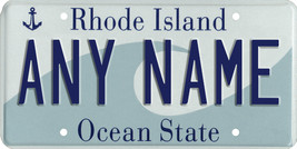 Custom Personalized Rhode Island golf cart, mobility scooter license plate - $12.99
