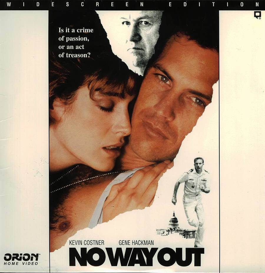 NO WAY OUT LTBX  SEAN YOUNG LASERDISC RARE