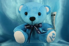 FuRyu A-Nation Blue Teddy Bear 17cm UFO Prize Plush Doll Figure - $24.99