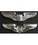 WWII Pilot Wing Sterling Luxenberg rare hallmark  - $90.00
