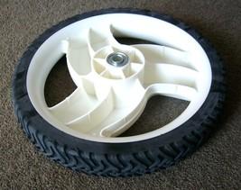 "Toro 22"" cut Recycler big high wheel tire 105-1816 for lawn mower 1051816 image 3"