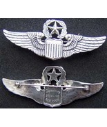 WWII Command Pilot Wing Sterling Luxenberg Pin Back         - $90.00