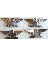 WWII War Eagles Colonel Sterling Silver Luxenberg 2 in      - $90.00