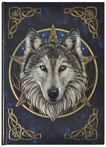 Artist Lisa Parker The Wild One Wolf & Celtic Knot Embossed Journal By L... - €14,26 EUR