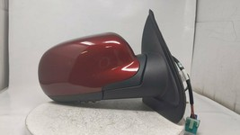 2002 Gmc Envoy Passenger Right Side View Power Door Mirror Red R9s06b16 - $54.42