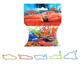 Disney Pixar Cars Logo Bandz 20 Pack Elastic Wristbands x 2 - $5.95