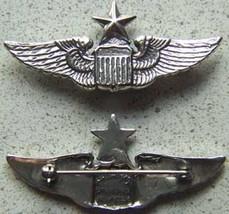 WWII Senior Pilot Luxenberg Sterling 2 inch       - $70.00