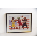 "Cute T. Richard ""Dream Team II"" Basketball Theme Print. - $4.99"