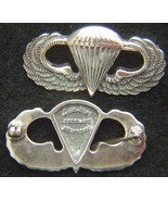 WWII Paratrooper Badge Luxenberg Sterling Silver    - $70.00