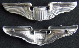 WWII Luxenberg AECO Pattern  Pilot Wing Sterling     - $80.00