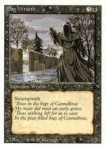 Magic: The Gathering 3rd Edition - Bog Wraith - $0.25