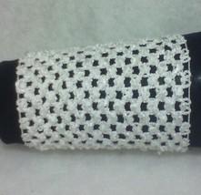 White Fashion Wristband Wrist Bracelet Cuff Tattoo Cover Up One Pair - $9.00