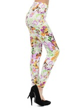 Butterfly and Flower Printed Legging - $15.99