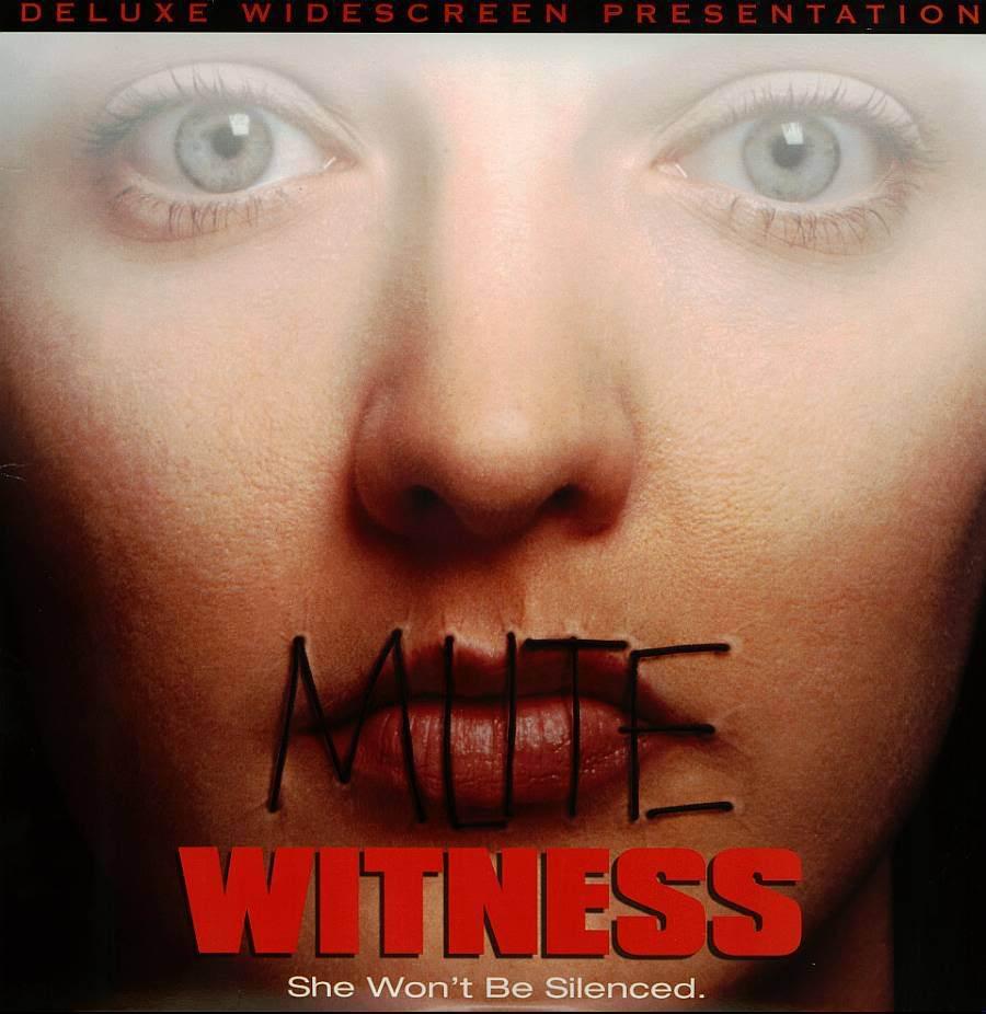 MUTE WITNESS LTBX MARINA ZUDINA LASERDISC RARE