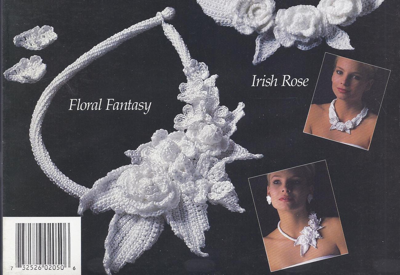 RARE~Irish Crochet Jewelry~Annie's Attic~4 Designs