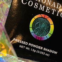 NWT NIB Clionadh Cosmetics JEWELLED MULTICHROME SINGLE PAN *ONE SHADE* CASTLE image 3